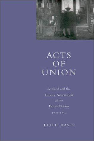 Acts of union by Leith Davis
