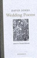 Wedding poems by Jones, David