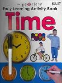 Wipe Clean Early Learning Activity Book – Time (Wipe Clean Early Learning Activity Books)