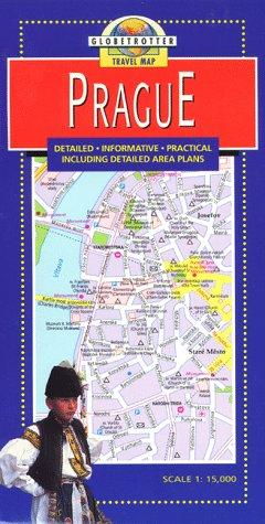 Prague Travel Map by Globetrotter