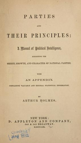 Parties and their principles